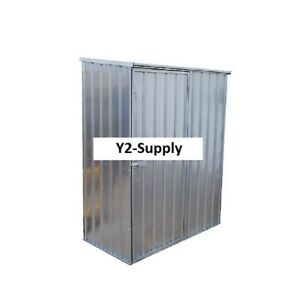 New Outdoor Utility Steel Storage Shed 60 w X 33 75 d X 75 h