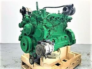 2001 John Deere 6068h Electronic Diesel Engine 149 Hp Tested Ready To Go