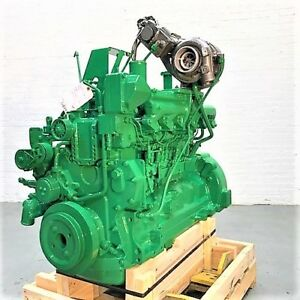 2005 John Deere 6068hdw60 Mechanical Diesel Engine 169 Hp Tested Ready To Go