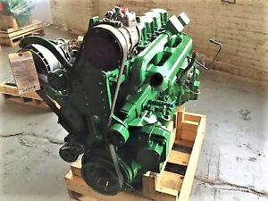 John Deere 6081h Electronic Diesel Engine Tested Ready To Go Common Rail