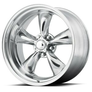 17 Torq Thrust Ii Vn515 Polished Classic Wheel 17x8 5x4 75 11mm 5 L