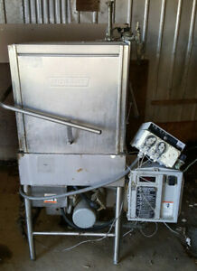Hobart Am 14c Am14 Natural Gas Commercial Corner Tall Upright Dishwasher 3 Phase
