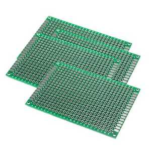 5x7cm Double side Prototype Fr 4 Pcb Stripboard Printed Circuit Board