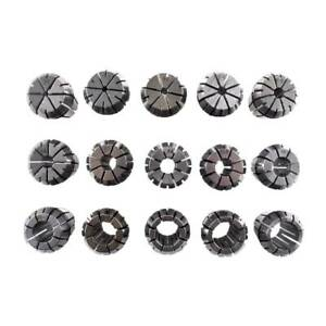 Er25 Collet Set 15pcs From 2 Mm To 16 Mm For Cnc Milling Lathe Tool And Spindle