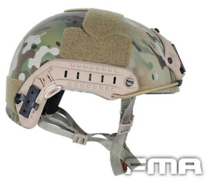 FMA Tactical FAST Helmet Multicam OPS-CORE Paintball Airsoft TB460-ML LXL