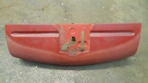 1951 Ford Pickup Ford Truck Upper Grille Valance Steel