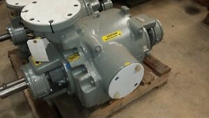 Nash Sc 4 316 Ss Re built Liquid ring Vacuum Pump With Packing Or Mech Seals