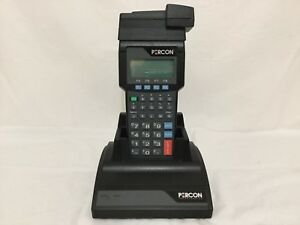 Percon Pt 2000 Handheld Inventory Scanner With Charging Base