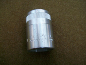 Stahlwille 27mm 3 4 Drive 6 Point 55 Chrome Socket Made In Germany