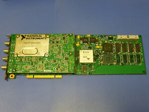 National Instruments Ni Pci 5406 Waveform Signal Generator Card 16bit 40mhz