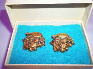 Vintage Ac Spark Plugs engine Cuff Links 351 Ford Windsor Engine