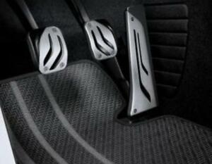 Bmw Stainless Steel Pedal Pads M Performance Caps For X3 G01 Manual Cars