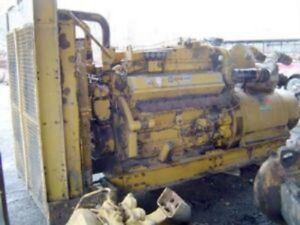 Used Cat D348 545kw Diesel Generator 1800rpm Complete And Run Tested