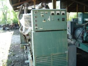 Detroit 16v92tt Diesel Generator 1800 Rpm Complete And Run Tested