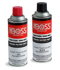 Boss Snowplow Red Spray Paint One Can New Oem Msc04098 Free Shipping