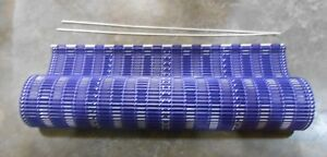 Habasit Modular Conveyor Belt 24 X 10 Blue white 156 d3