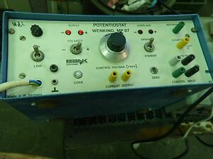 Gerhard Bank Elektronik Potentiostat Wenking Mp 87