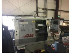 2000 Haas Sl 30 Cnc Lathe 30hp 3400 Rpm 12 Station Turret Under Power