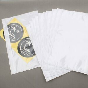 6x9 Clear Adhesive Top Loading Packing List Label Invoice Envelope Shipping Bags