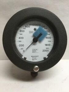 Ashcroft 1082 Test Gauge 0 2000 Psi