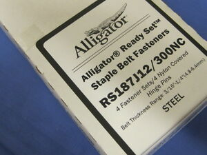Flexco 54588 Alligator Ready Set Staples Rs187j12 300nc