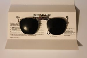 Uvex 870 Klip Lifts For S4150 Safety Glasses Welding Green Shade 8
