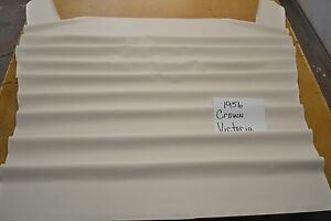 1956 56 Ford Fairlane Crown Victoria White Headliner Usa Made Top Quality