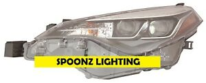 Toyota Corolla 2017 2018 Driver Se Xle Xse Led Headlight Head Lamp Light Left