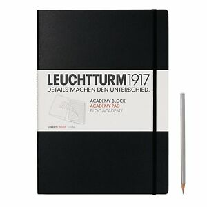 Leuchtturm1917 Master Academy Pad 8 85 X 12 3 Inches 60 Sheets Of 100g Lined P