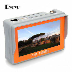 4 3 Hd 1080p Ahd Cctv Analog Camera Test Display Monitor Tester Dc 12v output