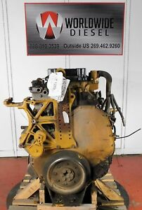 Cat C11 Diesel Engine Take Out Turns 360 Engine Is Good For Rebuild Only