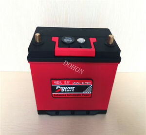 46b24r 12v 46ah Lithium Iron Phosphate Battery Lifepo4 For Automotive Deep Cycle