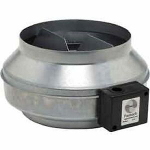 New 10 In line Duct Fan With Metal Housing 513 Cfm