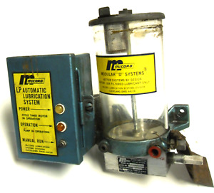 Mccord Ls 62185 Modular d Systems W lp Automatic Lubrication System 240 2 11