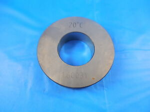 1 60031 Smooth Plain Bore Ring Gage 1 625 02469 Undersize 1 5 8 Inspection