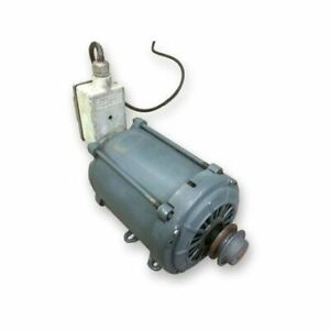 Used 1 3 Hp General Electric Motor 1725 Rpm 115 230 Volt Single Phase 56 Frame