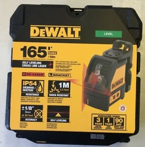 Dewalt Self leveling Cross Line Laser Level Dw088k