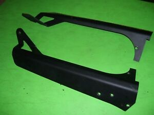 01 Jeep Wrangler Sahara Tj Led Light Bar Brackets Damaged Windshield Frame