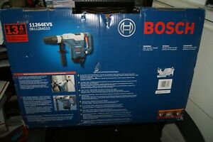 Bosch 11264evs Rotary Hammer Drill 1 5 8 Sds max 13 0 Amps New