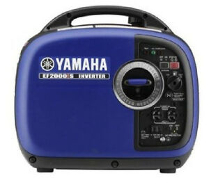 Yamaha Ef2000is 2 000 Watt 4 Stroke Gas Portable Inverter Generator Rv Camp New