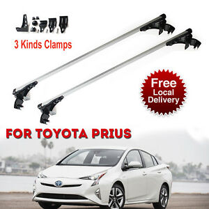 Aluminum Car Roof Bar Crossbar Rack Luggage Carrier For Toyota Prius 07 2017