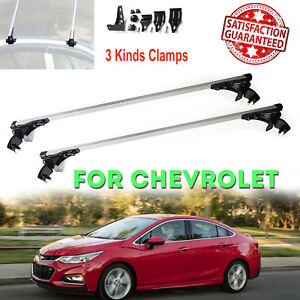 Aluminum Car Roof Top Bar Crossbar Cargo Luaage Rack For Chevy Cruze 2010 2017