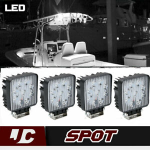 4x 4 Led Work Light Bar Total 72w Cube Pods Offroad Driving Lamp Boat Truck 4wd