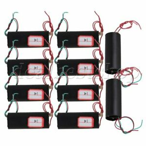 10pcs Boost Step up High voltage Generator Ignition Coil Power Module Dc 3v 6v