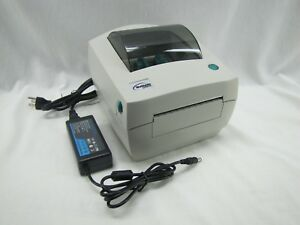 Zebra Lp2844 Thermal Label Printer W power Serial Port used Buynow getfast