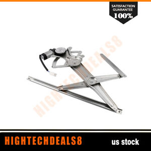 Power Window Regulator Driver Side Front With Motor For 2003 08 Toyota Corolla