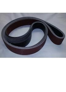 2 X 48 Sanding Belts A o Starter Kit 16 Belts 36 40 80 120 Grits 4 Each