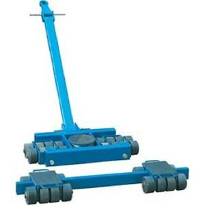 New Steerable Machinery Moving Skate Roller Kits 80 Ton Capacity