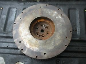 1962 6 Cylinder Oliver 1800 Gas Farm Tractor Flywheel Good Teeth Free Shipping