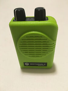 Motorola Minitor V 5 Low Band Pagers 45 49 Mhz Nsv 2 freq Apex Green